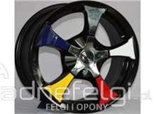 NEW ALLOYS 15'' 4X100 4X114.3 VW, NISSAN, OPEL, RENAULT