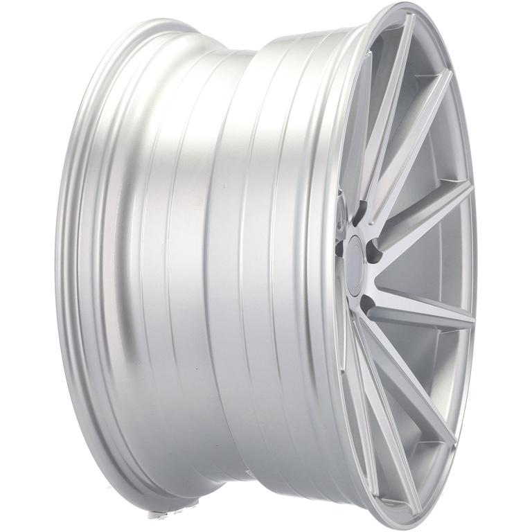 RACING LINE RBY1059 hliníkové disky 8x17 5x112 ET40 MS - Polished Silver
