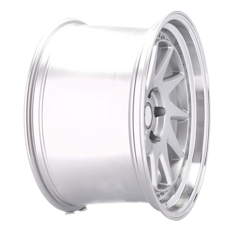 RACING LINE RXFA39 hliníkové disky 9,5x19 5x114,3 ET25 MS - Polished Silver