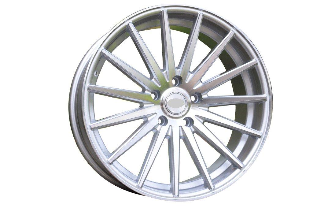 RACING LINE RR999 hliníkové disky 8,5x20 5x112 ET35 MS - Polished Silver