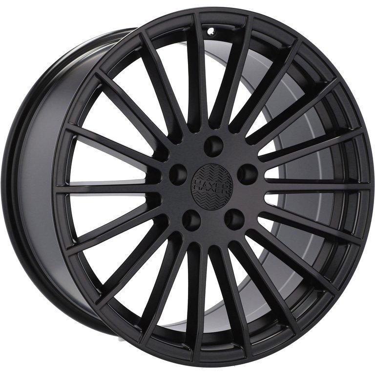 HAXER RHX010 hliníkové disky 9x22 5x112 ET30 BM - Black matt